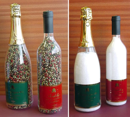Salt Mill Wine Bottle - Filled - Wedding Gifts & Accessories | Home Bar Equipments UK | Scoop.it
