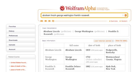 Quickly Compare Two or More Things in Wolfram Alpha | formation 2.0 | Scoop.it