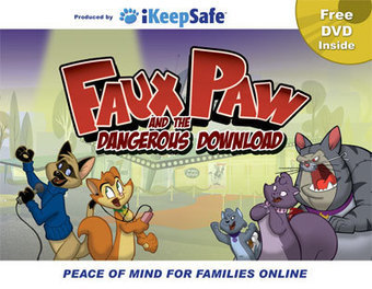 Faux Paw the Techno Cat — iKeepSafe | Elementary Digital Citizenship | Scoop.it