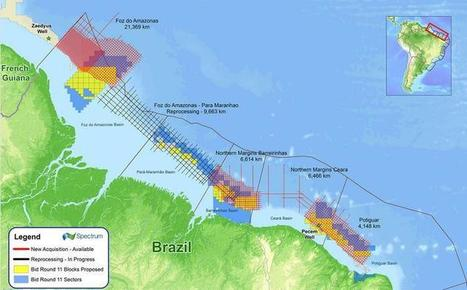 Brazil: Spectrum multi-client seismic to offer advantage in Brazil's ... | Geology | Scoop.it