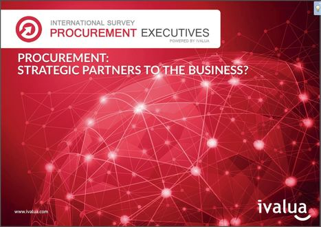 "Ivalua unveils the results of its study ""Procurement: strategic partners to the business?"" 
