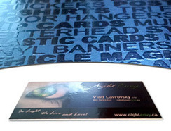 Best SpotUV Business Cards | flyer printing Canada | Scoop.it