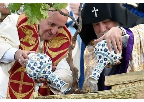 Tvít pápeža Františka: Nech sa naplní spoločenstvo s Arménskou cirkvou | Správy Výveska | Scoop.it