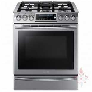 NX58H9500WS Slide In Gas Range, Self Clean, Convection, Warming Drawer - Appliances Depot   Buy Home Appliances with One Year Warranty   Scoop.it