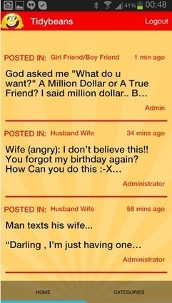 TidyBeans - Romantic Quotes, jokes, SMS | AmebaEntertainment | Scoop.it