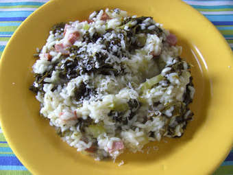 Cooking Around the World: Kale again - Leftovers for Kale Risotto   Food for Foodies   Scoop.it
