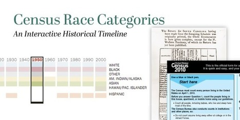 The changing categories the U.S. has used to measure race | Southmoore AP United States History | Scoop.it
