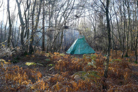 The Tarp Tipi: A Modern Take on a Classic Shelter Design | Bushcraft | Scoop.it