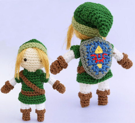 The Legend of Zelda Link Amigurumi Pattern | Mascot Factory for Baby Toys | Scoop.it