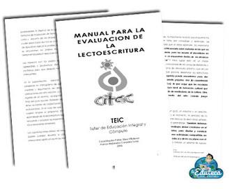 MALETÍN DEL PROFE | Manual para la evaluación de la lectoescritura ~ La Eduteca | Bibliotequesescolars | Scoop.it