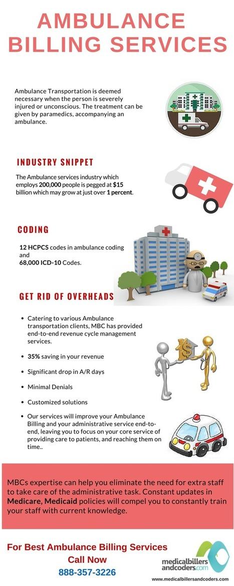 Efficient Ambulance/EMS Billing Services | Medical Billing and Coding Services | Scoop.it