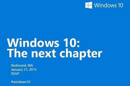 Le futur de Windows 10 dévoilé le 21 janvier | Cerje | Scoop.it