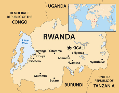 RwandaMap.jpg (633x495 pixels) | Broken Memory: Rwandan Genocide | Scoop.it