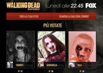 The Walking Dead Dead Yourself, crea terrificanti fotomontaggi di zombie con l'app per Facebook | THOMAS | Scoop.it