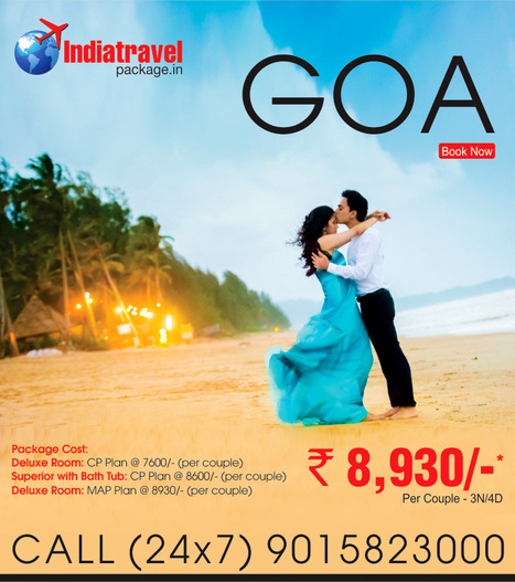 Goa travel package from delhi - ncr | travel agent | Scoop.it