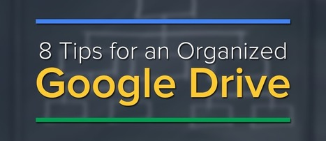 8 Tips for an Organized Google Drive | Imagine Easy Solutions | You can never be overdressed or overeducated (Oscar Wilde) | Scoop.it