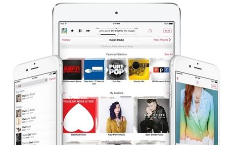 Comment Apple veut contrer le streaming musical gratuit | Libertés Numériques | Scoop.it