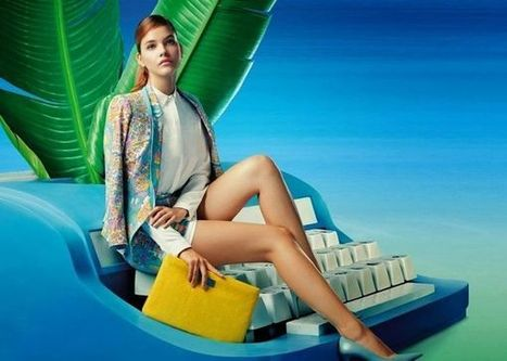 Surreal Office-Inspired Fashion Ads | FASHION LILY SS14 - BARBARA PALVIN CAMPAIGN BY FRED & FARID SHANGHAI | Scoop.it