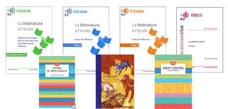#LireEnShort Pour l'enseignement de la littérature à l'école, éduscol propose des listes de référence de livres...   Littérature en langue française   Scoop.it