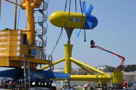 Hydrolienne D10 de Sabella.  Immersion reportée au printemps | Industrie, entreprises | Scoop.it