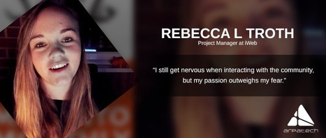 """I still get nervous when interacting with the community, but my passion outweighs my fear"" – Interview With Rebecca L Troth 
