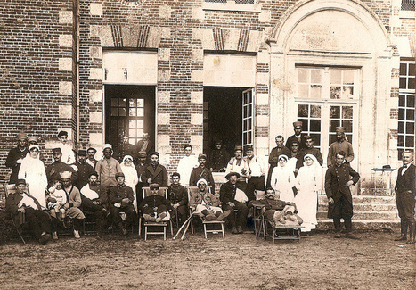 Rouen Hospital 1915 | Flickr - Photo Sharing! | GenealoNet | Scoop.it