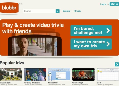 blubbr. Use YouTube Videos to Create Interactive quizzes | Marketing Education | Scoop.it