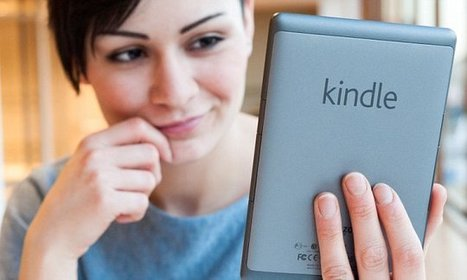 How reading on a Kindle can cause you to lose the plot | Kickin' Kickers | Scoop.it