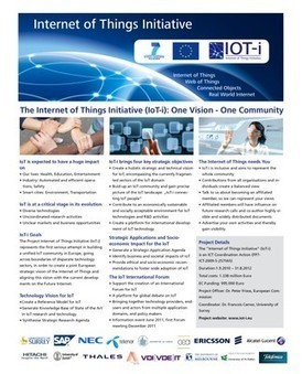 The Internet of Things Initiative — IOT-I: Internet of Things Initiative | Internet das Coisas | Scoop.it