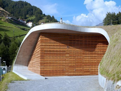 Stunning, sustainable design at an Italian hydroelectric plant... | sustainable architecture | Scoop.it