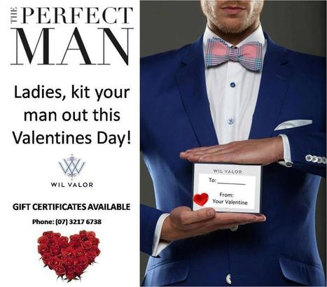 Wil Valor | Facebook - limited edition GC - Valentine gift for HIM | Fashion Designing and Tailoring | Scoop.it