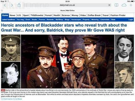 "Twitter / JonathanHaynes: Oh dear, the Mail seems to ... | ""Blackadder-Gate"" | Scoop.it"