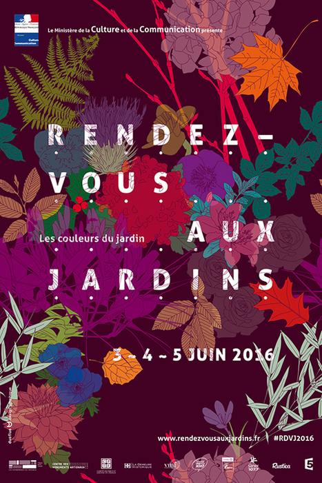 Les rendez-vous aux jardins du 3 au 5 juin 2016 à Cergy-Pontoise | Environnement, paysage et biodiversité | Scoop.it