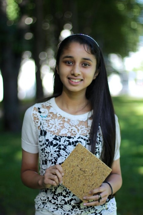 At The Age of 15 She Invented Building Material From Indian Rice Waste | Organic Farming | Scoop.it