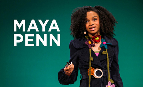 Maya Penn, teen entrepreneur, is out to change the world | TED Blog | Muséogeekeries etc... | Scoop.it