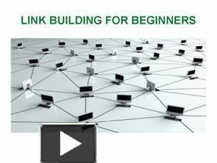 LINK BUILDING FOR BEGINNERS | SEO | Scoop.it