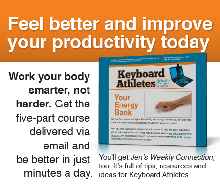Productivity for Keyboard Athletes   Creative Facilitation and Coaching   Scoop.it