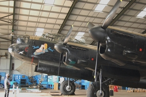 Avro Lancaster B. Mk VII - soon there will be three! | Warbirds | Scoop.it