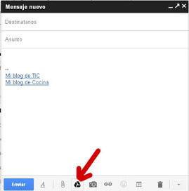 En la nube TIC: Enviar archivos de gran tamaño mediante Gmail. | Herramientas tics | Scoop.it