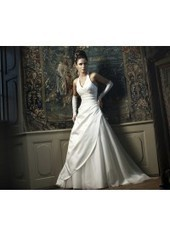 A Line Halter Brush Train Satin Ivory Wedding Dress H1ly0011 for $957 | Landybridal 2014 wedding dress | Scoop.it