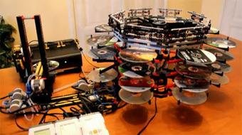 Mudador Automático de DVDs na XBox feito em LEGO | Heron | Scoop.it