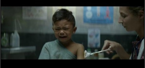 "Doctors of the World ""make a child cry"" by DDB Paris... 