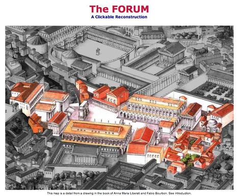 The FORUM ROMANUM - Exploring an ancient market place | Humanidades | Scoop.it