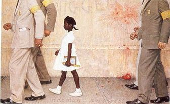 The-problem-we-all-live-with-norman-rockwell.jpg (396x244 pixels) | Calpurnia | Scoop.it