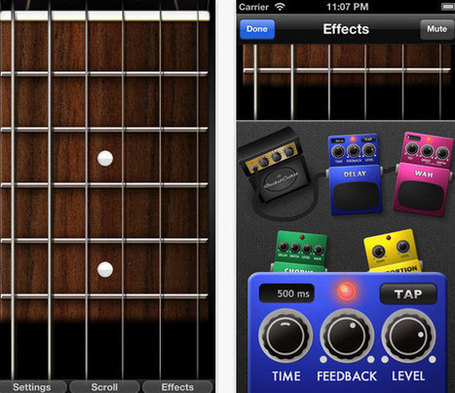 12 iPhone and iPad Apps that Enhance Your Guitar Playing Skills | Edtech PK-12 | Scoop.it
