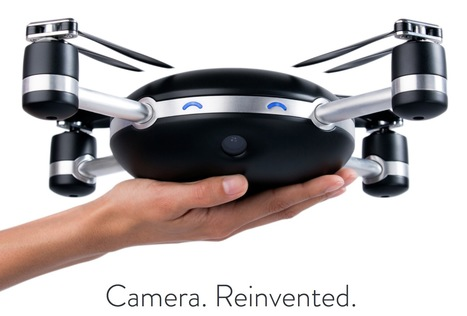 Lily - The Camera That Follows You // #drone #robotics | arslog | Scoop.it