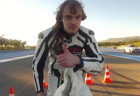 Interview with a madman: Francois Gissy hits 333 km/h on rocket-powered bicycle | California Flat Track Association (CFTA) | Scoop.it