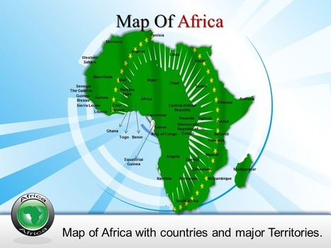 Download Africa Map Powerpoint Template Slides Online | PowerPoint Maps | Scoop.it