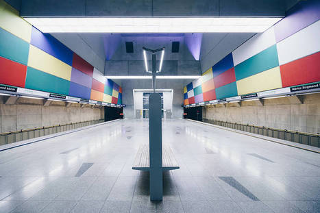 #Photographie : Focus on the Beauty of Symmetry in the Underground of Budapest | Photographie, d'ailleurs! | Scoop.it