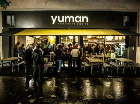 Yuman : restaurant éclairé bio et local à Paris | ADE | Scoop.it